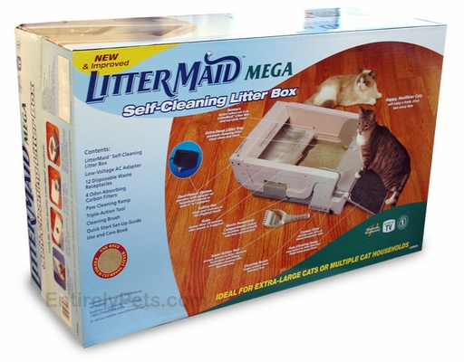 LitterMaid Mega Self-Cleaning Litter Box