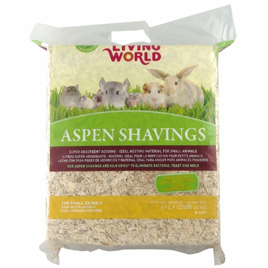 Living World Aspen Shavings (2500 cu inch)