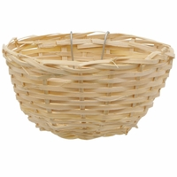 "Living World Bamboo Canary Nest (4.3"" x 2.2"")"