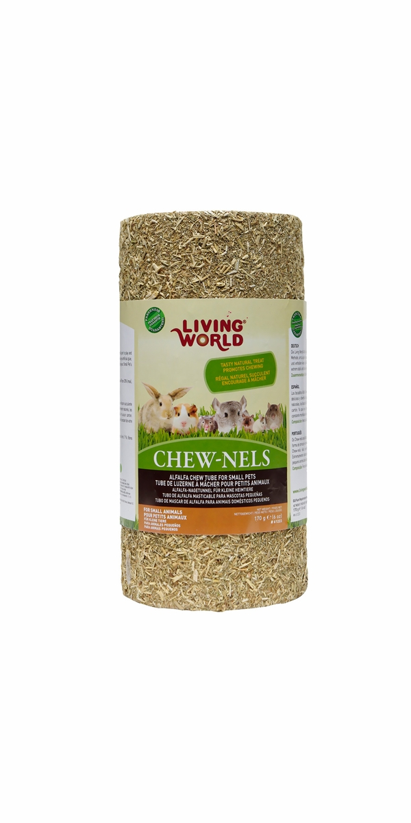 Living World Chewnels Alfalfa Medium