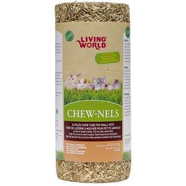Living World Chewnels Alfalfa Small