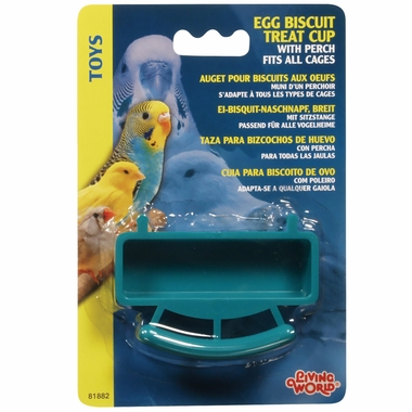 Living World Egg Biscuit Treat Cup