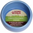 Living World Ergonomic Dish Blue - Large