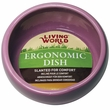 Living World Ergonomic Dish Pink - Small