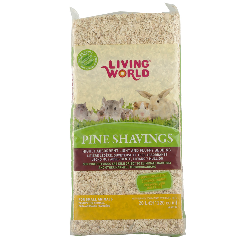 Living World Pine Shavings (1200 cu inch)