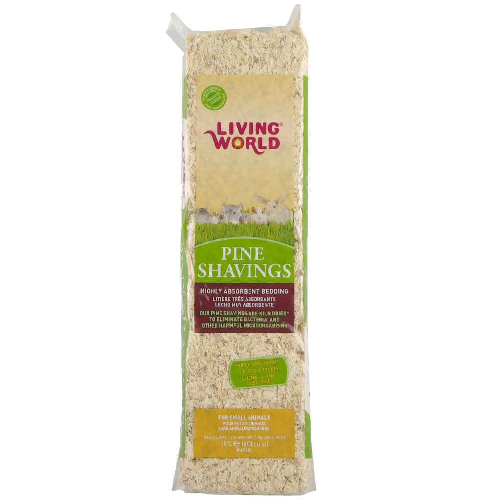Living World Pine Shavings (600 cu inch)