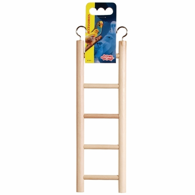 Living World Wooden Ladder (5 Steps)