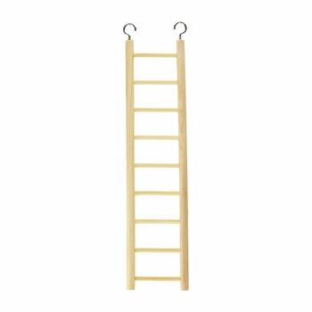 Living World Wooden Ladder (9 Steps)