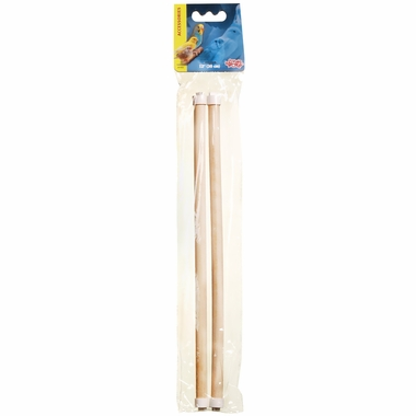 Living World Wooden Perch 12 in (2 pack)