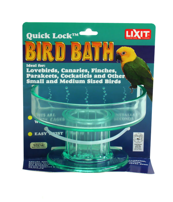 Lixit Quick Lock Bird Bath