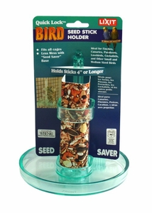 Lixit Quick Lock Bird Seed Stick Holder