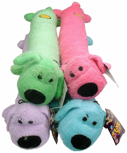 Loofa Dog - 24 Inches - Assorted Colors