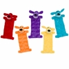 "Multipet Loofa Squeaker Mat Dog Toy 22"" (Assorted Colors)"