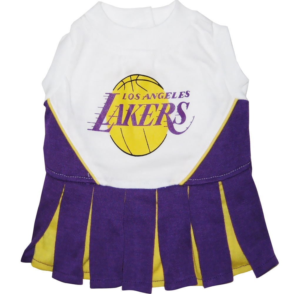 Los Angeles Lakers Cheerleader Dog Dresses