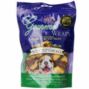 Loving Pets Apple & Chicken Wrap (6 oz)