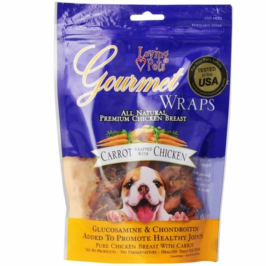 Loving Pets Carrot & Chicken Wrap (6 oz)