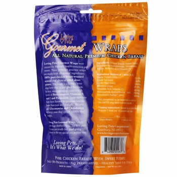 Loving Pets Sweet Potato & Chicken Wrap (8 oz)