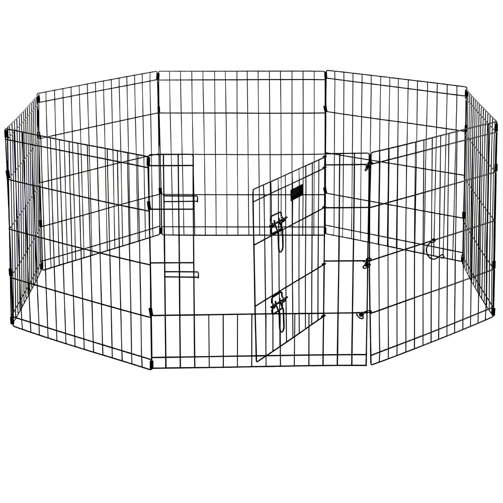 Lucky Dog Dog Exercise Pen w/Stakes - 24""