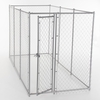 Lucky Dog™ 2 in 1 Galvanized Chain Link Box Kennel - 6'H x 5'W x 10'L or 6'H x 8'W x 6.5'L