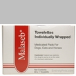 Malaseb Towelettes 6x6 - Individually Wrapped Medicated Pads (60 count)