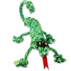 Mammoth SnakeBiter Iguana Rope Dog Toy 16""