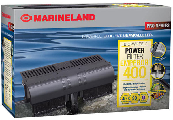 Marineland Emperor 400 Power Filter (upto 90 gal)