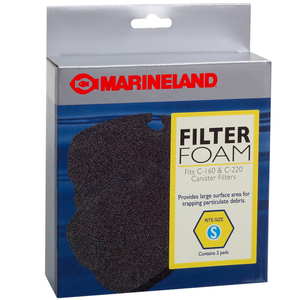 Marineland Filter Foam for C-160 & C-220 Rite-Size S (2 pk)