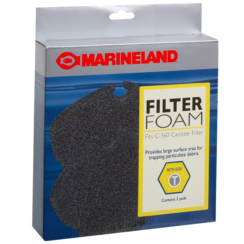 Marineland Filter Foam for C-360 Rite-Size T (2 pk)