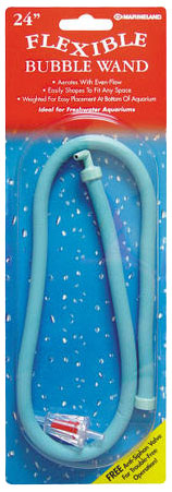 "Marineland Flexible Bubble Wand with Anti-siphon Valve (24"")"