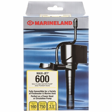 Marineland® Maxi-Jet® Power Head 600 (160 gph)