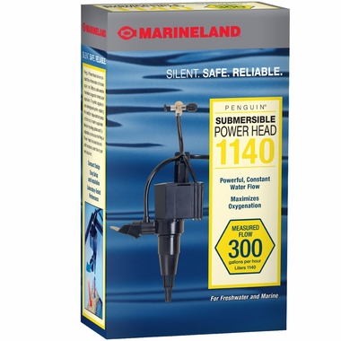 Marineland Penguin Submersible Power Head 1140 (300 gph)