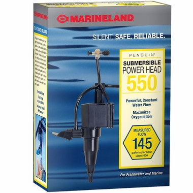 Marineland Penguin Submersible Power Head 550 (145 gph)