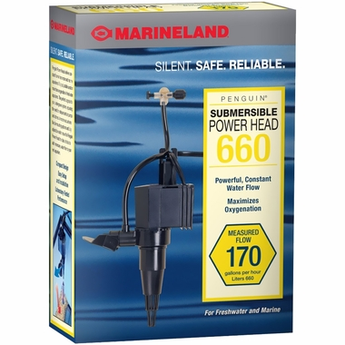 Marineland Penguin Submersible Power Head 660 (170 gph)