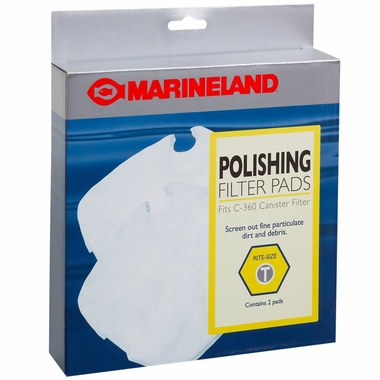 Marineland Polishing Filter Pads for C-360 Rite-Size T (2 pk)