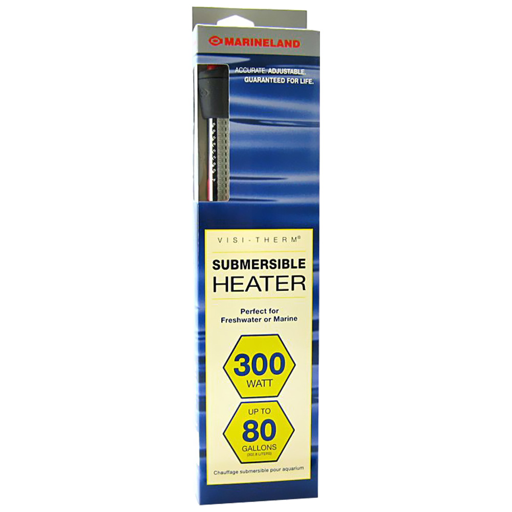 Marineland Visi-Therm Submersible Heater (300 Watt upto 80 gal)