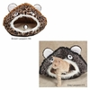Meow Town Cat Cave Leopard - Brown