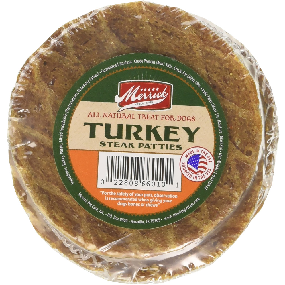 Merrick Turkey Patties (5 pack)