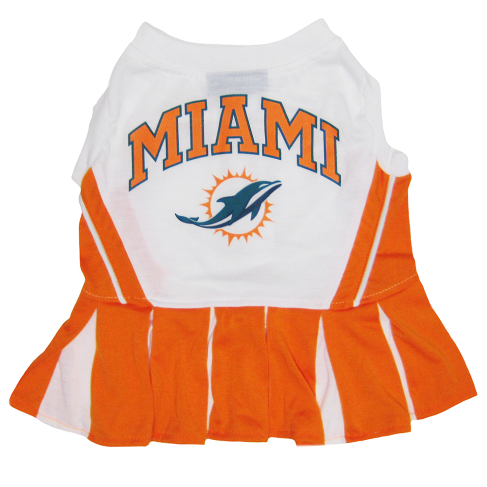 Miami Dolphins Cheerleader Dog Dresses