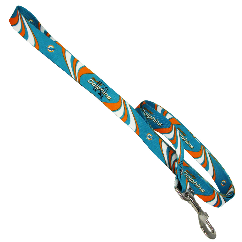 Miami Dolphins Dog Leash - One Size