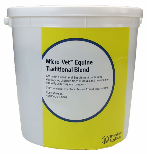 Micro Vet Equine Traditional Blend (20 lb)