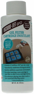 Microbe-Lift Gel Filter Cartridge Innoculant  (4 oz)