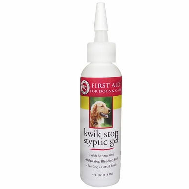 Miracle Care Kwik-Stop Styptic Gel Formula (4 oz)