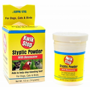 Miracle Care Kwik-Stop Styptic Powder (.5 oz)