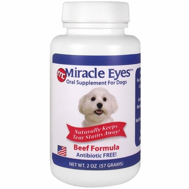 Miracle Eyes Oral Supplement for Dogs - Beef (2 oz)