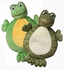 Multipet 2-Faced Animals Aligator/Frog
