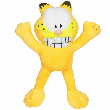 Multipet Garfield Plush Dog Toy - 10