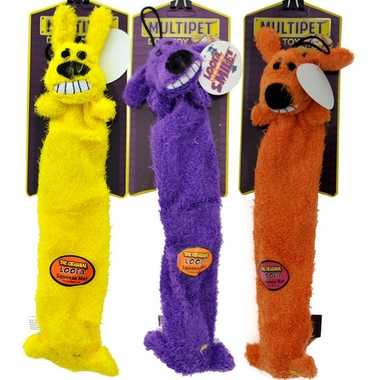 Multipet Lightweight Loofa Dog Toy (3 pack) - 12