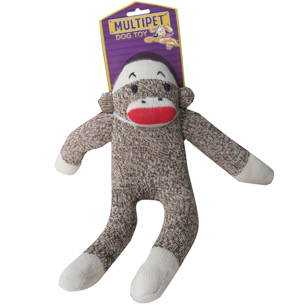 Multipet Sock Pal Monkey 10""