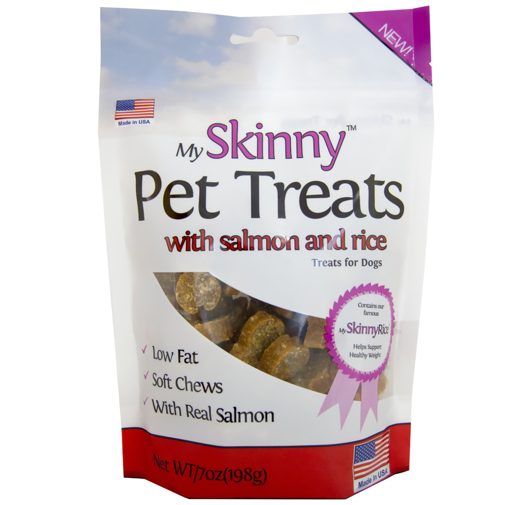 My Skinny™ Pet Mini Treats - Salmon & Rice (7 oz)