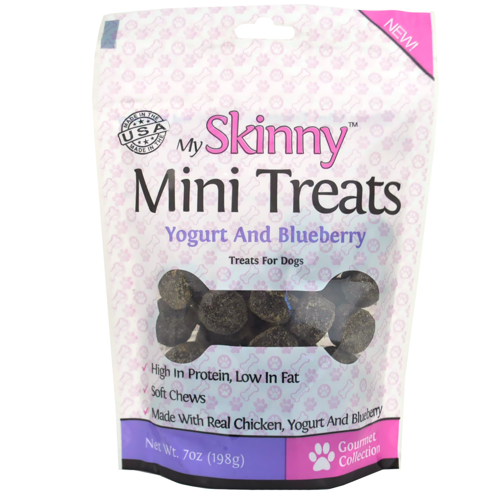 My Skinny Pet Mini Treats -Yogurt & Blueberry (7 oz)